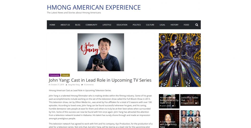 Hmong American Experience John Yang