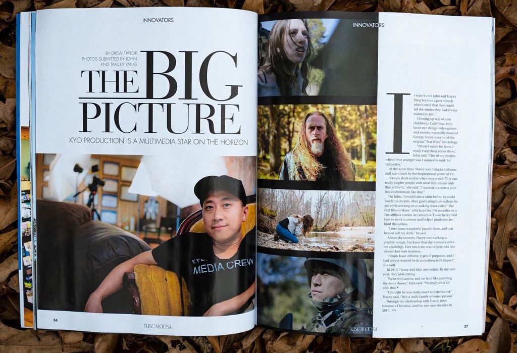 Undying Faith in Tuscaloosa Magazine